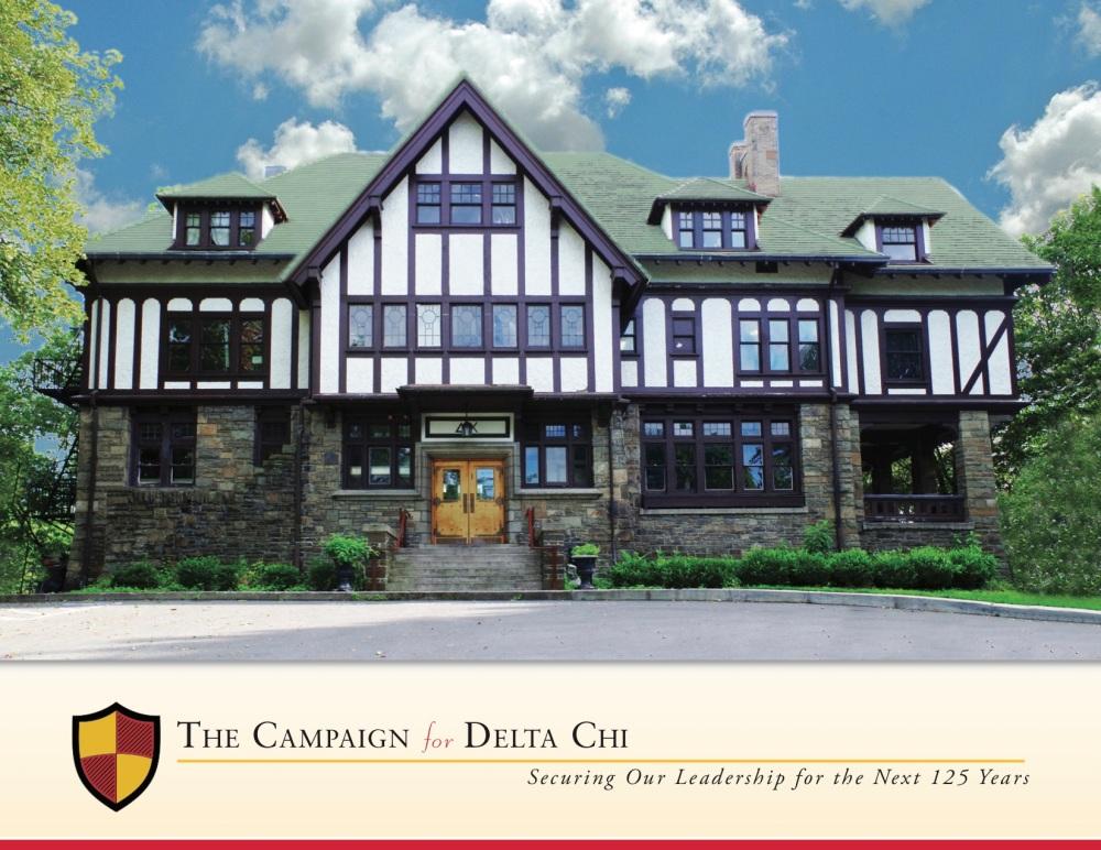 Cornell Delta Chi Campaign Brochure